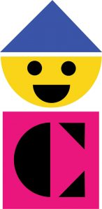 Original Colorforms logo by Paul Rand