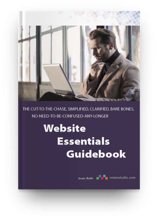 website essentials guidebook cover